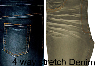 4 way stretch Denim