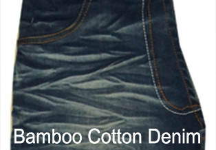 Bamboo Cotton Denim