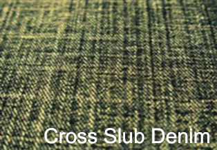 Cross Slub Denim